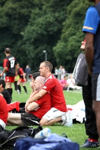 Fußballer haben sich gern